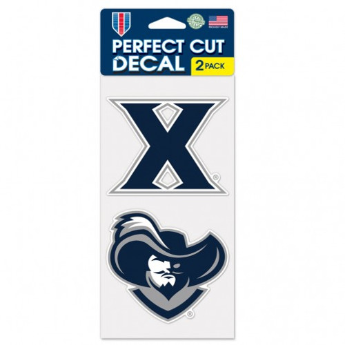 """Xavier Musketeers Set Of Two 4""""x4"""" Perfect Cut Decals"""