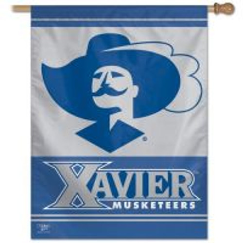 Xavier Musketeers Vertical Flag