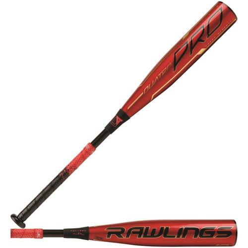 """Rawlings 2020 Quatro Pro USSSA 2 3/4"""" Baseball Bat (-10)"""