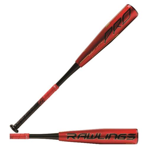 """Rawlings 2020 Quatro Pro USSSA 2 3/4"""" Baseball Bat (-12)"""