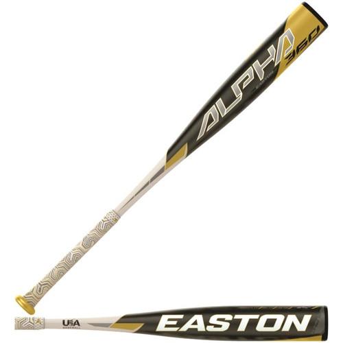 """Easton 2020 Alpha 360 USA 2 5/8"""" Baseball Bat (-8)"""