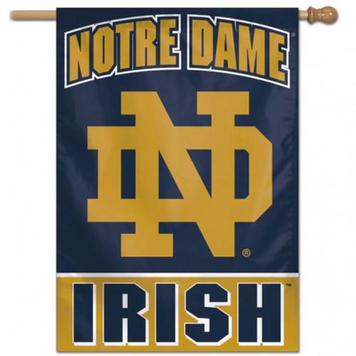 "Notre Dame Fighting Irish Vertical Flag 28"" x 40"""