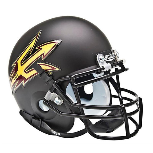 Arizona State Sun Devils Black Schutt Mini Helmet