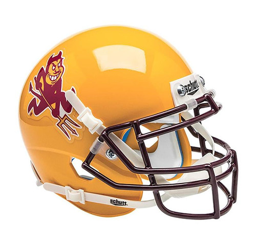 Arizona State Sun Devils Yellow Alternate Schutt Mini Helmet