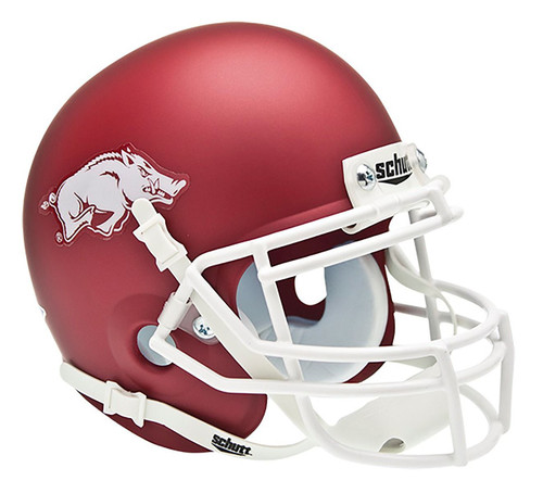 Arkansas Razorbacks Schutt Mini Helmet