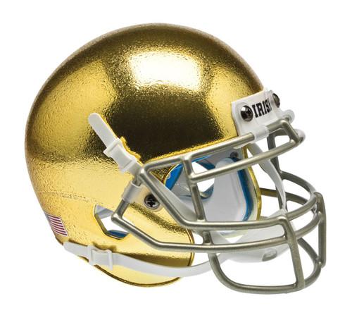 Notre Dame Fighting Irish Alternate Gold Schutt Mini Helmet