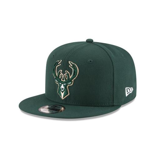 New Era Milwaukee Bucks Stock Original 9FIFTY Snapback Hat