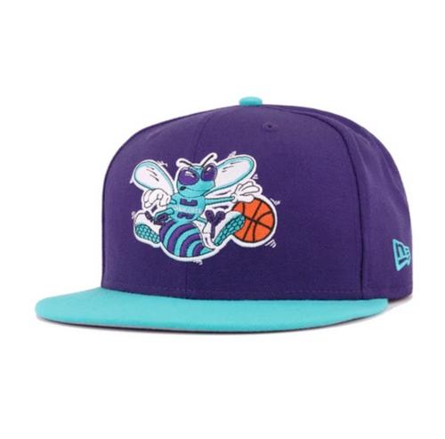 New Era Charlotte Hornets 2-Tone Stock Original 9FIFTY Snapback Hat