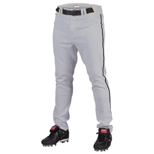 Rawlings Premium Semi-Relaxed Fit Piped Baseball Pants