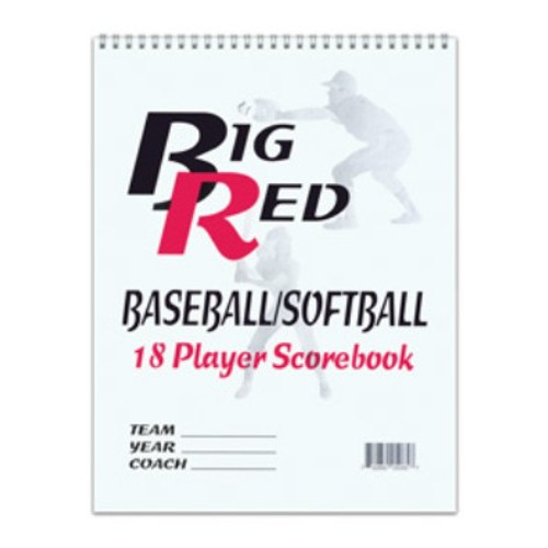Baseball/Softball 18 Player Scorebook