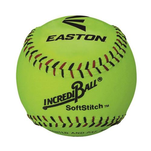 Easton Neon SoftStitch IncrediBall Training Softballs (Dozen)