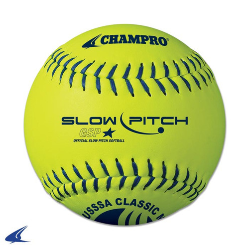 "Champro 12"" USSSA Slow Pitch Classic M Game Softball (Dozen)"