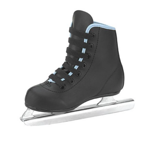 American Athletic Shoe Co. Little Rocket Double Runner Boys Figure Skates Black