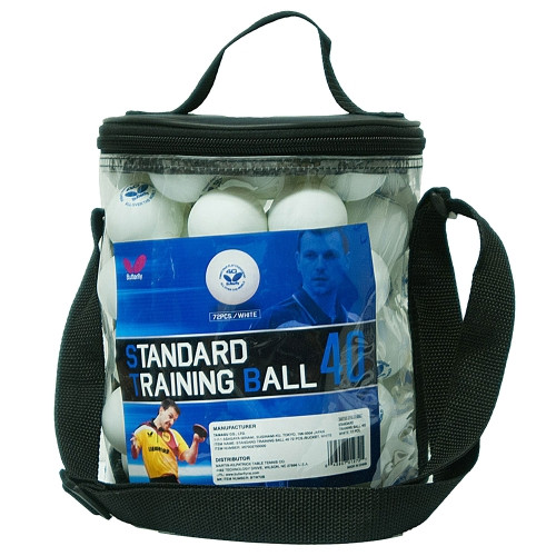 Butterfly Standard Training Table Tennis 72 Ball Bucket