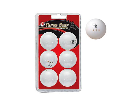 Martin Kilpatrick 3-Star Table Tennis Balls