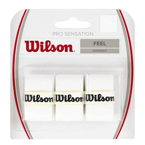 Wilson Pro Sensation Overgrip 3 Pack White