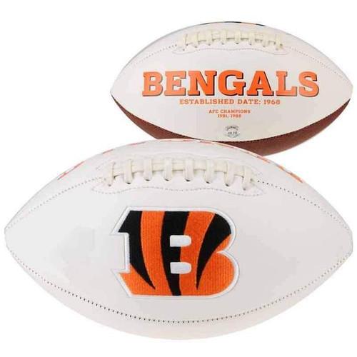 Cincinnati Bengals Autograph Football