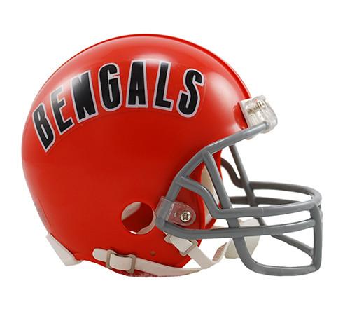 Cincinnati Bengals Riddell Throwback Mini Helmet