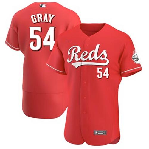 Men's Cincinnati Reds Sonny Gray Scarlet Alternate 2021 Authentic Player Jersey