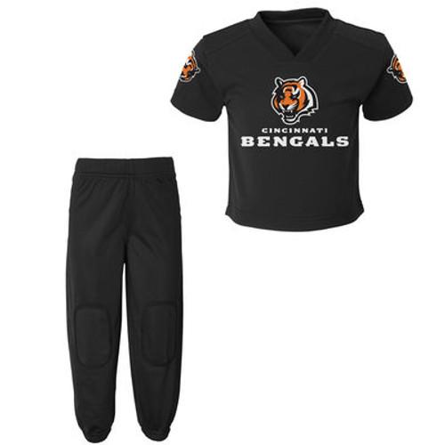 Toddler and Infant Cincinnati Bengals Black Field Goal Pants Set