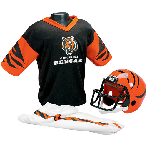 Cincinnati Bengals Franklin Kids NFL Helmet & Uniform Set