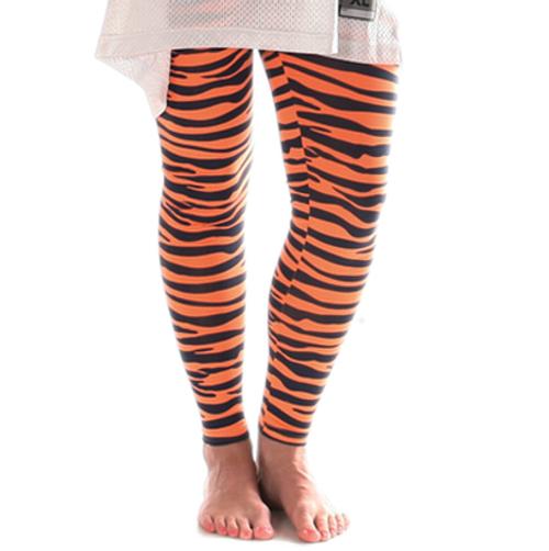 Women's Tiger Stripe Gameday Leggings