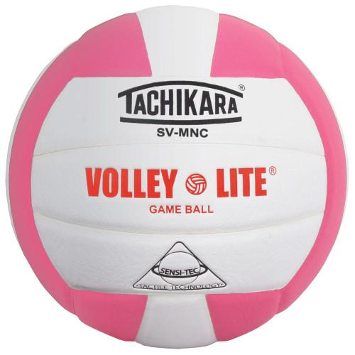 Tachikara Volley Lite Volleyball Pink