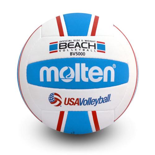 Molten Elite Beach Volleyball - Red/White/Blue