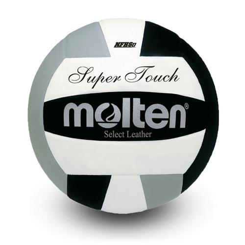 Molton Super Touch OHSAA Volleyball - Black/Silver