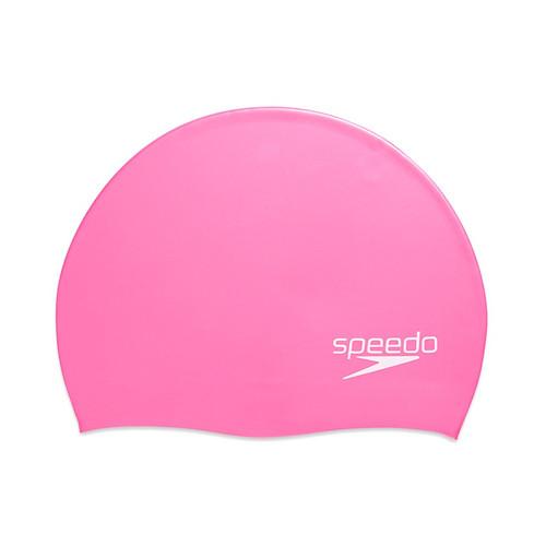 Speedo Solid Silicone Cap - Elastomeric Fit