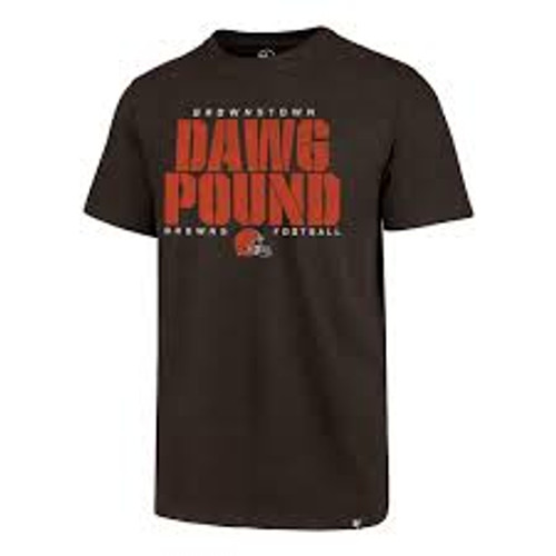 Men's '47 Brand Cleveland Browns Dawg Pound Club Tee