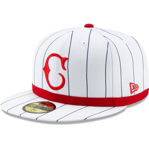 Cincinnati Reds New Era White 1919 150th Anniversary Turn Back the Clock 59FIFTY Fitted Hat