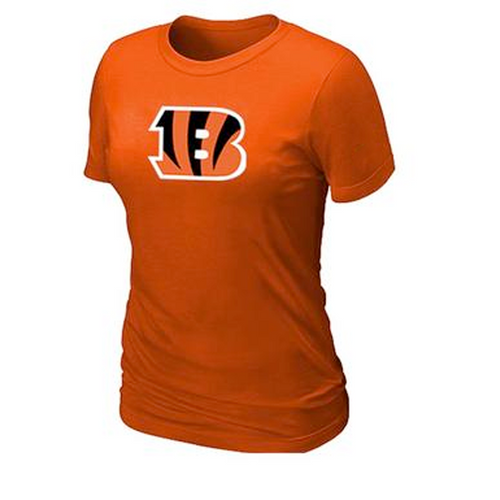 Cincinnati Bengals Women's Legend Logo Dri-FIT NFL T-Shirt - Orange