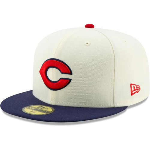 Cincinnati Reds New Era White/Navy 1935 150th Anniversary Turn Back the Clock 59FIFTY Fitted Hat