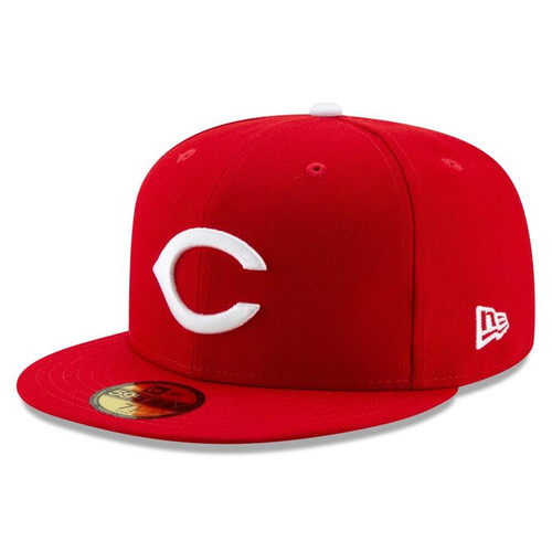 Cincinnati Reds New Era Red 1956 150th Anniversary Turn Back the Clock 59FIFTY Fitted Hat