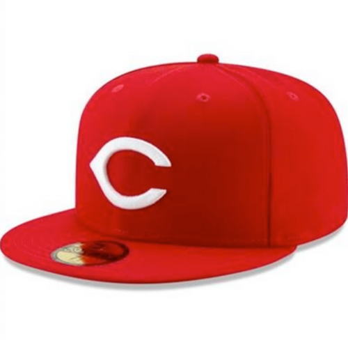 Cincinnati Reds New Era Red 1975-76  Cooperstown Classic 59FIFTY Fitted Hat