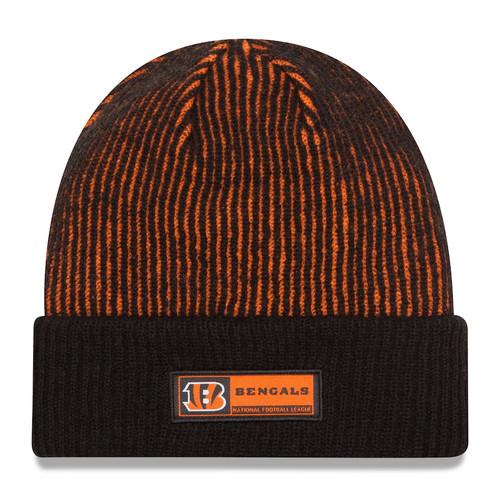 New Era Black Cincinnati Bengals Sideline Official Tech Knit Hat