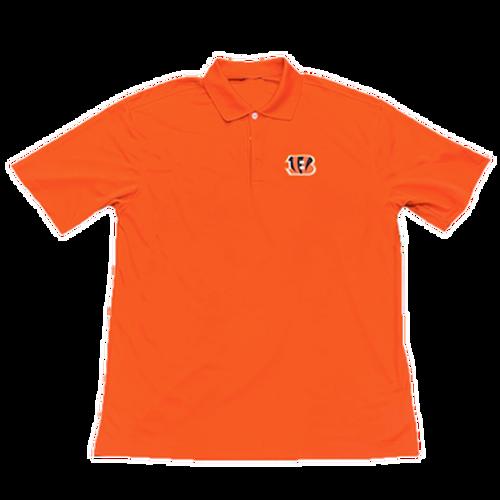 Men's Orange Cincinnati Bengals Dri-Fit Golf Polo