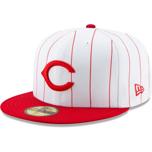Cincinnati Reds New Era White/Red 1995 150th Anniversary Turn Back the Clock 59FIFTY Fitted Hat