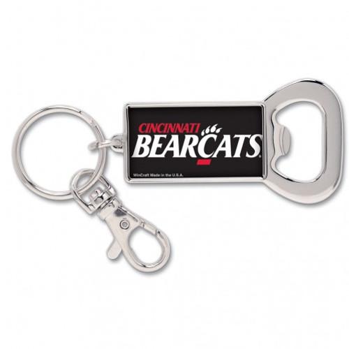 Cincinnati Bearcats Bottle Opener Key Ring