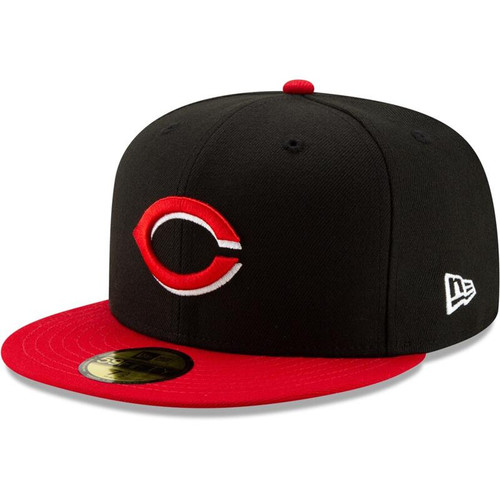 Cincinnati Reds New Era Black/Red 1999 150th Anniversary Turn Back the Clock 59FIFTY Fitted Hat