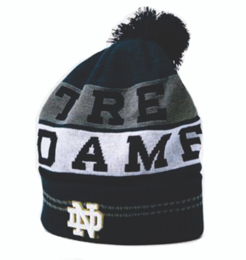 Notre Dame Fighting Irish Under Armour Pom Beanie