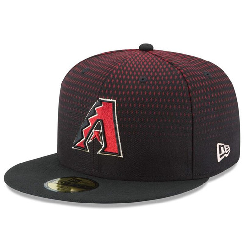 Arizona Diamondbacks New Era Black Authentic Collection On Field 59FIFTY Performance Fitted Hat