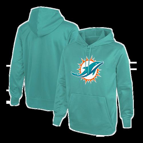 Men's Miami Dolphins Aqua Club Fleece Pullover Hoodie