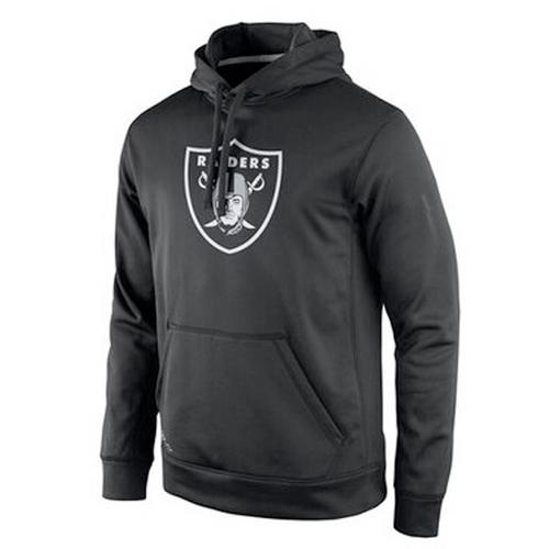 Men's Las Vegas Raiders Heathered Grey Club Fleece Pullover Hoodie