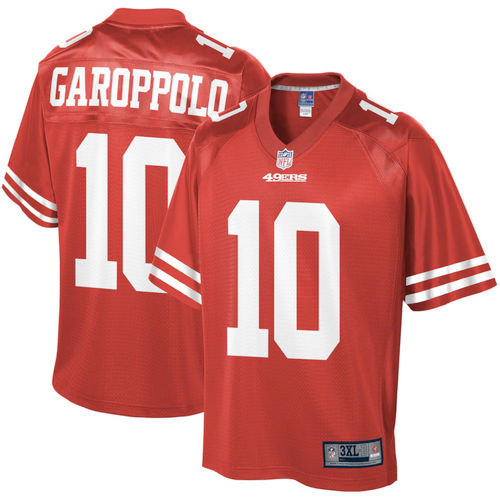 Men's San Francisco 49ers Jimmy Garoppolo Red Game Player Jersey