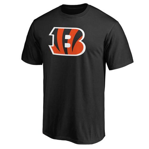 Cincinnati Bengals Youth Black Primary Logo T-Shirt