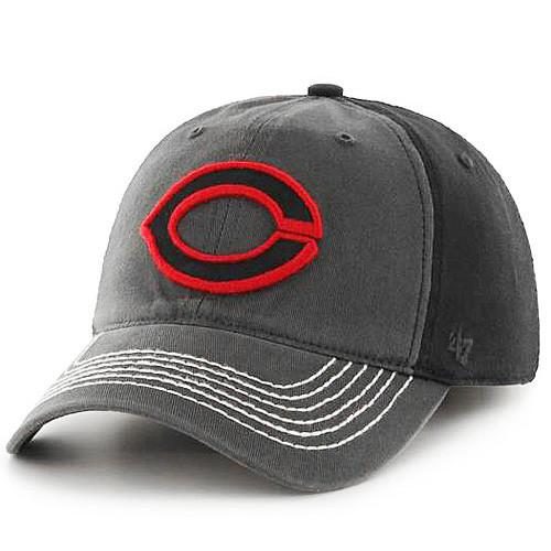 Cincinnati Reds '47 Brand Coffman One Size Stretch Fit Cap