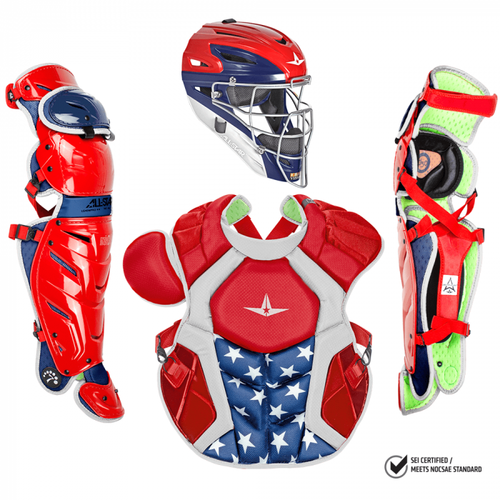 All-Star S7 Axis CKCCPRO1X-USA Adult Catching Kit