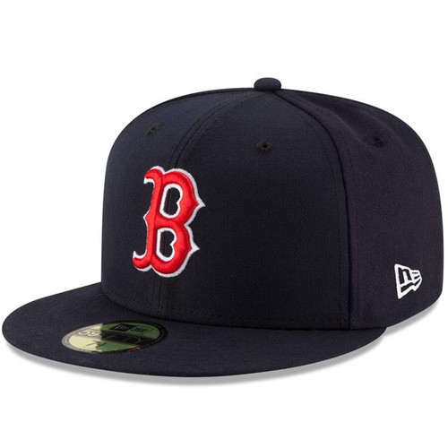 Boston Red Sox New Era Navy Game Authentic Collection On-Field 59FIFTY Fitted Hat